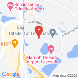 Mapa EMBASSY SUITES BY HILTON ORLANDO AIRPORT