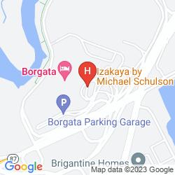 Mapa BORGATA HOTEL CASINO & SPA