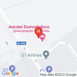Mapa AIRHOTEL DOMODEDOVO