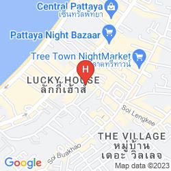 Mapa THE IMPERIAL PATTAYA