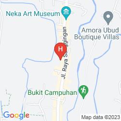 Mapa ANANDA COTTAGES