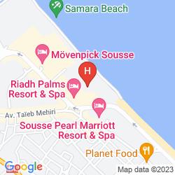 Mapa RIADH PALMS