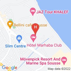Mapa MARHABA BEACH