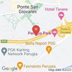 Mapa PARK HOTEL
