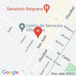 Mapa PRINCE