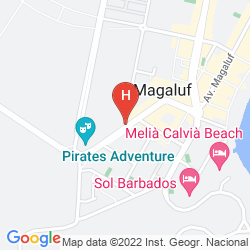Mapa FRESH APARTAMENTOS MAGAMAR