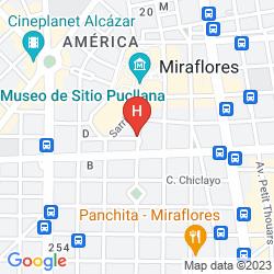 Mapa THUNDERBIRD HOTEL PARDO