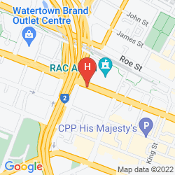 Mapa FOUR POINTS BY SHERATON PERTH
