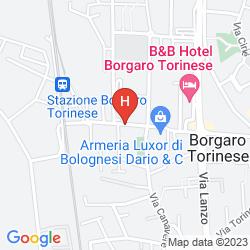 Mapa PACIFIC HOTEL AIRPORT