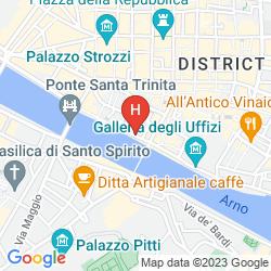 Mapa PORTRAIT FIRENZE