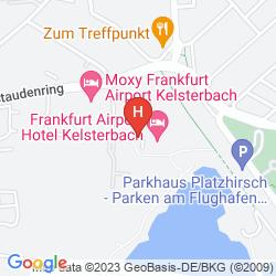 Mapa MERCURE HOTEL FRANKFURT AIRPORT