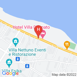 Mapa HOTEL VILLA D'AMATO
