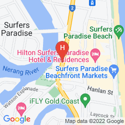 Mapa MANTRA CIRCLE ON CAVILL