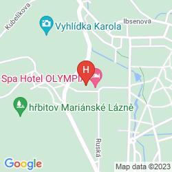 Mapa RESIDENCE HOTEL ROMANZA