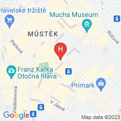 Mapa ADRIA PRAGUE