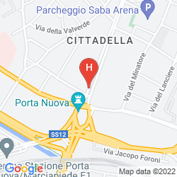 Mapa HOTEL FIRENZE, SURE HOTEL COLLECTION BY BEST WESTERN