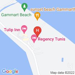Mapa REGENCY TUNIS