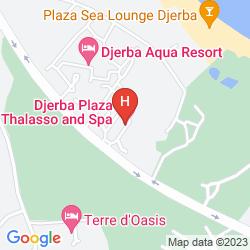 Mapa DJERBA PLAZA