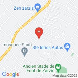 Mapa HOTEL GIKTIS