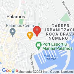 Mapa PAL BEACH