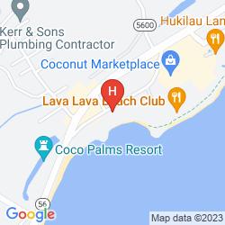 Mapa LANIKAI RESORT