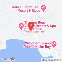 Mapa ABSOLUTE NAKALAY BEACH RESORT