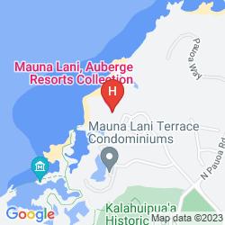 Mapa MAUNA LANI BAY HOTEL & BUNGALOWS
