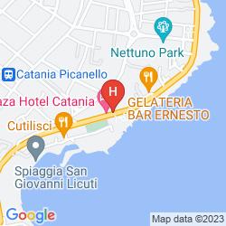 Mapa PLAZA HOTEL CATANIA