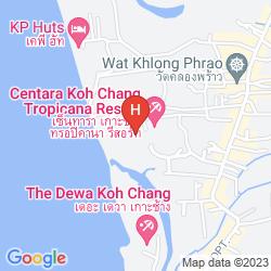 Mapa CENTARA KOH CHANG TROPICANA RESORTS