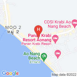 Mapa KRABI TIPA RESORT