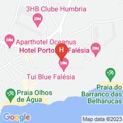 Mapa APARTHOTEL AQUA-MAR
