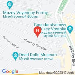 Mapa ARBAT HOUSE