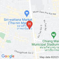 Mapa CENTER PARK SERVICE APARTMENTS & HOTEL