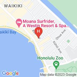 Mapa THE RESIDENCES AT WAIKIKI BEACH TOWER