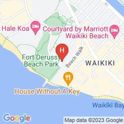 Mapa TRUMP INTERNATIONAL HOTEL - WAIKIKI BEACH WALK