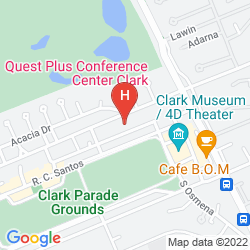 Mapa QUEST HOTEL & CONFERENCE CENTER CLARK