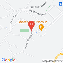 Mapa CHATEAU DE NAMUR