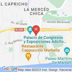 Mapa GRAND MELIA DON PEPE