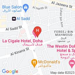 Mapa LA CIGALE