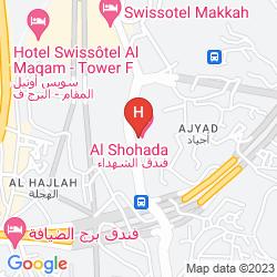 Mapa AL SHOHADA