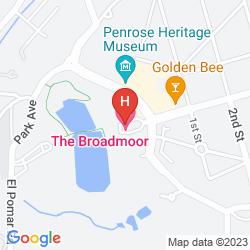 Mapa BROADMOOR