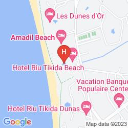 Mapa RIU TIKIDA BEACH - ADULTS ONLY