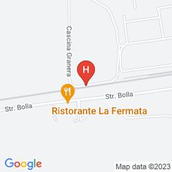 Mapa LA FERMATA RESORT