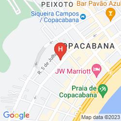 Mapa BANDEIRANTES