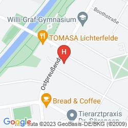Mapa VILLA TOSCANA HOTEL & APARTMENTS