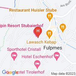 Mapa HOTEL ALTE POST
