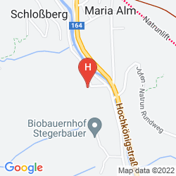 Mapa ALPENGASTHOF HOTEL ANNERLHOF