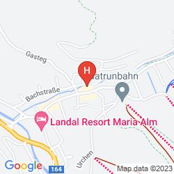 Mapa HOTEL HALLER