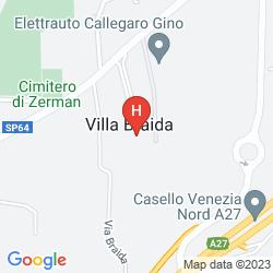 Mapa VILLA BRAIDA
