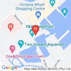 Mapa VICTORIA & ALFRED